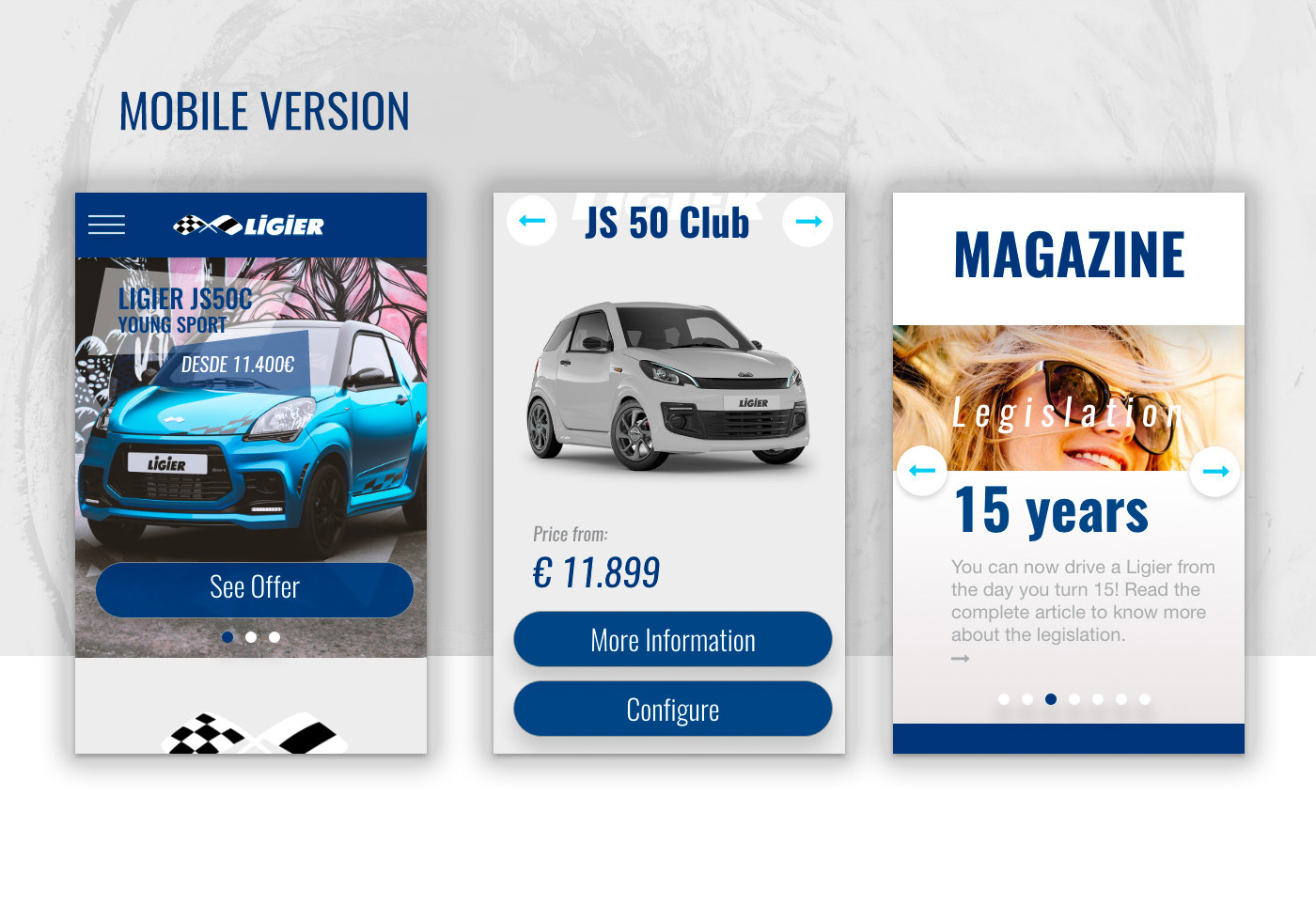 Ligier web